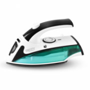 Camry CR 5024  White/green/black, 840 W, Steam Travel iron, Vertical steam function, Water tank capacity 40 ml  12,00