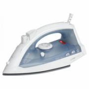 Clatronic DB 3485 Steam Iron, ceramic sole, Steam jet function, spray device and vertical steam, self-cleaning, 2200 W, White/Blue  66,00