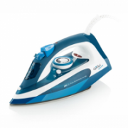 Gallet GALFAR370 Blue/ white, 2400 W, Steam iron, Continuous steam 40 g/min, Steam boost performance 130 g/min, Anti-drip function, Anti-scale system, Vertical steam function, Water tank capacity 250 ml  23,00