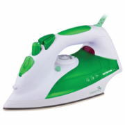 ORAVA ZE-108 G White/green, 2000 W, Steam Iron, Anti-scale system, Vertical steam function, Water tank capacity 330 ml  17,90