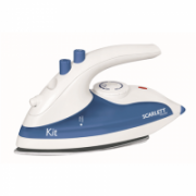 Scarlett Iron SC-1135S  White/ blue, 800 W, Traveling, Continuous steam 10 g/min, Water tank capacity 70 ml  18,00