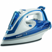 Scarlett SC - SI30K29 Blue, 2600 W, Steam iron, Continuous steam 45 g/min, Steam boost performance 190 g/min, Auto power off, Anti-drip function, Anti-scale system, Vertical steam function, Water tank capacity 480 ml  17,00