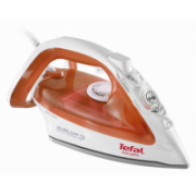 TEFAL FV3952  White/Orange, 2400 W, Steam Iron, Continuous steam 35 g/min, Steam boost performance 125 g/min, Anti-scale system, Vertical steam function, Water tank capacity 0.27 ml  41,90