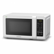 DAEWOO Microwave oven KOR-662BW 20 L, Touch control, 700 W, White, Free standing, 20 L  58,00
