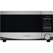 DAEWOO Microwave oven KQG-664BB 20 L, Grill, Touch control, 700 W, Black, Stainless steel, Free standing, Defrost function  63,00