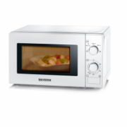 Severin Microwave Oven 7890 20 L, Mechanical, 700 W, White, Free standing, Defrost function  69,00