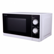 Sharp R200WE Microwave Oven/Capacity 20L/Power 800W/Mechanical control/White  235,00