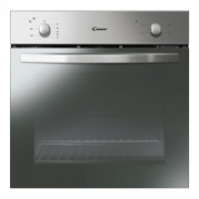 Candy Oven FCS100X Multifunction, 71 L, Stainless steel, Manual, A, Rotary knobs, Height 60 cm, Width 60 cm, Conventional  143,00