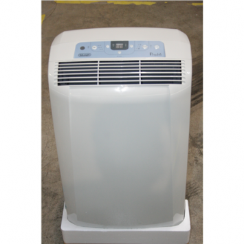 SALE OUT. Delonghi PAC CN95 Air Conditioner, A, Stand, Suitable up to 90 m³, Timer, Dehumidifier and Fan functions, White, DAMAGED PACKAGING Delonghi Air Conditioner PAC CN95 white Free standing, Fan, Suitable for rooms up to 90 m³