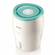 Philips HU4801/01 Humidification capacity 220 ml/hr, White/ green, Type Humidifier, Natural evaporation process, Suitable for rooms up to 25 m², Water tank capacity 2 L  84,90