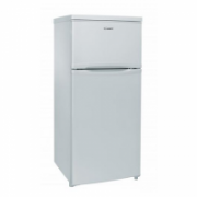 Candy Refrigerator CCDS 5122W Free standing, Double door, Height 122.5 cm, A+, Fridge net capacity 112 L, Freezer net capacity 40 L, 42 dB, White  185,00