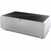 Caso Sound and Cool 00790 Sound and Cool Table with Soundbar and Beverage Cooler, White/ black  1174,00
