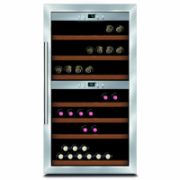 Caso Wine cooler Wine Master 66  Free standing, Showcase, Bottles capacity 66, Silver  891,00