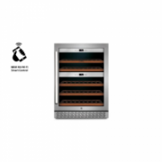 Caso Wine cooler WineChef Pro 40 Free standing, Showcase, Bottles capacity 40, Silver  882,00