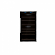 Caso Wine cooler WineComfort Touch 66 Free standing, Table top, Bottles capacity 66, Compressor Technology, 5-20 C, Two Zones, Sensor Touch Control, UV Filter on door,   Black  921,00