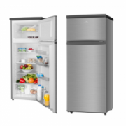 ETA Refrigerator ETA236590010 Free standing, Double door, Height 143 cm, A++, Fridge net capacity 171 L, Freezer net capacity 41 L, 42 dB, Stainless steel  299,90