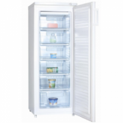 Goddess Freezer GODFSC0143TW8 Upright, Height 143 cm, Total net capacity 163 L, A+, Freezer number of shelves/baskets 6, White, Free standing, No Frost system  323,00