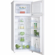 Goddess Refrigerator RDB0143GW8 Free standing, Double Door, Height 143 cm, A+, Fridge net capacity 171 L, Freezer net capacity 41 L, 42 dB, White  182,00