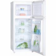 Goddess Refrigerator RDC0116GW8 Free standing, Double Door, Height 116 cm, A+, Fridge net capacity 89 L, Freezer net capacity 29 L, 42 dB, White  248,00