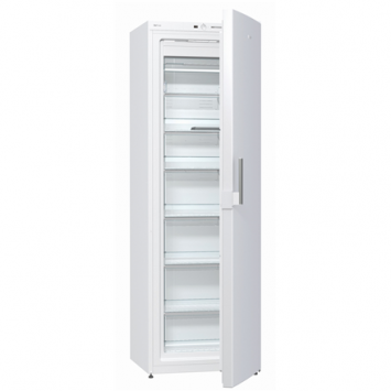 Gorenje Freezer FN6191DHW Upright, Height 185 cm, Total net capacity 243 L, A+, Freezer number of shelves/baskets 6, Display, White, No Frost system, Free standing