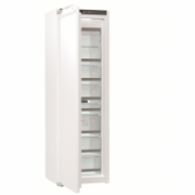 Gorenje Freezer FNI5182A1 Upright, Height 177 cm, Total net capacity 212 L, A++, Freezer number of shelves/baskets 7, Display, White, No Frost system, Built-in  898,00