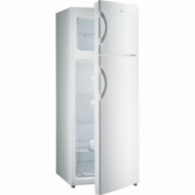 Gorenje Refrigerator RF4141ANW Free standing, Double door, Height 143 cm, A+, Fridge net capacity 166 L, Freezer net capacity 41 L, 40 dB, White  247,00