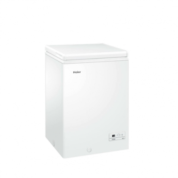 Haier Freezer HCE103R Chest, Height 84.5 cm, Total net capacity 103 L, A+, Freezer number of shelves/baskets 1, White, Free standing