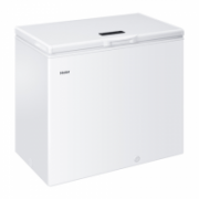 Haier Freezer HCE203R Chest, Height 84.5 cm, Total net capacity 203 L, A+, Freezer number of shelves/baskets 1, White, Free standing  204,00