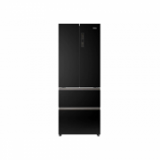 Haier HB16FFGBAAA Free standing, Side By Side, Height 190 cm, A++, No Frost system, Fridge net capacity 351 L, Freezer net capacity 157 L, Display, 38 dB, Black glass  1099,00