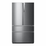 Haier HB25FSSAAA Refrigerator/ Side by side/ No Frost/ LED Lighting/ 3D freezer drawers/ MyZone/ Inverter Compressor/ Touch screen/ H190/ Fridge 456L/ Freezer 229L/ EC A++/ Stainless Steel  8.903,00