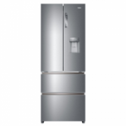 Haier Refrigerator HB16WMAA Free standing, Side By Side, Height 190 cm, A+, No Frost system, Fridge net capacity 301 L, Freezer net capacity 121 L, Display, 40 dB, Stainless Steel  859,00
