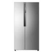 Haier Refrigerator, Height 179 cm, A+, Fridge net capacity 343 L L, Freezer net capacity 178 L L, Display, 48 dB, Inox  735,00