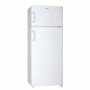 Haier Refrigerator HTM-546W Free standing, Double Door, Height 141.5 cm, A+, Fridge net capacity 170 L, Freezer net capacity 40 L, 42 dB, White  231,00