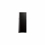 Hitachi Refrigerator R-VG540PRU3 (GBK) Free standing, Double Door, Height 183.5 cm, A++, No Frost system, Fridge net capacity 333 L, Freezer net capacity 117 L, 40 dB, Black glass  785,00