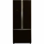 Hitachi Refrigerator R-WB550 (GBK) Free standing, Side by Side, Height 178 cm, A+, No Frost system, Fridge net capacity 335 L, Freezer net capacity 94 L, Display, 42 dB, Black glass  1024,00
