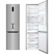 LG Refrigerator GBF60PZFZS Free standing, Combi, Height 201 cm, A++, No Frost system, Fridge net capacity 246 L, Freezer net capacity 93 L, Display, 37 dB, Stainless steel  598,00