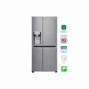LG Refrigerator GSJ960PZBZ Free standing, Side by Side, Height 179 cm, A++, No Frost system, Fridge net capacity 422 L, Freezer net capacity 246 L, Display, 39 dB, Inox  1195,90
