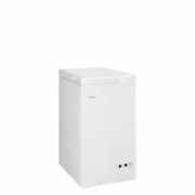 SALE OUT. Haier Freestanding freezer, Height 62.5/89/58.5 cm cm, Total net capacity 103 l L, A+, White, DAMAGED PACKAGING, DAMAGED HINGES, UNEVEN SPACING BETWEEN TOP HOOD AND BODY  135,00