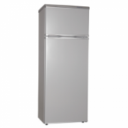 Snaige Refrigerator FR240-1161AA Free standing, Double door, Height 144 cm, A+, Fridge net capacity 166 L, Freezer net capacity 46 L, Silver  212,00