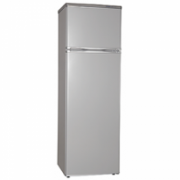 Snaige Refrigerator FR275-1161AAA Free standing, Double door, Height 169 cm, A++, Fridge net capacity 201 L, Freezer net capacity 57  L, 39 dB, Silver  251,00
