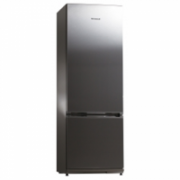 Snaige Refrigerator RF32SM-S1CB21 Free standing, Height 176 cm, A+, Fridge net capacity 233 L, Freezer net capacity 54 L, 40 dB, Stainless steel  267,00