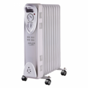 Adler AD 7808 Oil Filled Radiator, Number of power levels 2, 2000 W, Number of fins 9, White  39,00