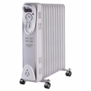 Adler AD 7809 Oil Filled Radiator, Number of power levels 2, 2500 W, Number of fins 11, White  42,90