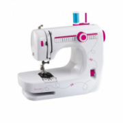 DomoClip DOM343 Sewing machine, 14 build in patterns, LED lig, Free arm, Automatic threading function, White DomoClip  64,00