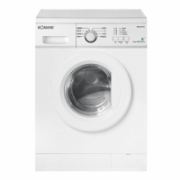 Bomann WA 5710 Washing Machine/6Kg/1000rpm/Depth 53cm/ LED display/ 8 programs/ EC A+/White  772,00