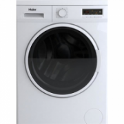 Haier Washing mashine HWD70-1260CD4 Front loading, Washing capacity 7 kg, Drying capacity 5 kg, 1200 RPM, B, Depth 58 cm, Width 60 cm, White, Display, Drying system, LCD  316,00