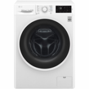 LG F2J6HM0W Front loading, Washing capacity 7 kg, Drying capacity 4 kg, 1200 RPM, Direct drive, B, Depth 45 cm, Width 60 cm, White, LED, Display, Drying system  433,00