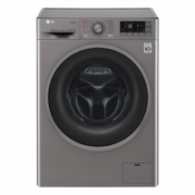 LG F2J7HY8S Front loading, Washing capacity 7 kg, 1200 RPM, Direct drive, A+++, Depth 45 cm, Width 60 cm, Silver, Display, LED, Steam function,  399,00