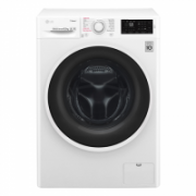 LG Steam washing machine  F4J6TY0W Front loading, Washing capacity 8 kg, 1400 RPM, Direct drive, A+++, Depth 55 cm, Width 60 cm, White, Display, LED, Steam function, NFC,  407,00