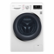LG TrueSteam washing machine  F4J8VS2W Front loading, Washing capacity 9 kg, 1400 RPM, Direct drive, A+++, Depth 56 cm, Width 60 cm, White, Display, LED, Steam function, Wi-Fi  471,00